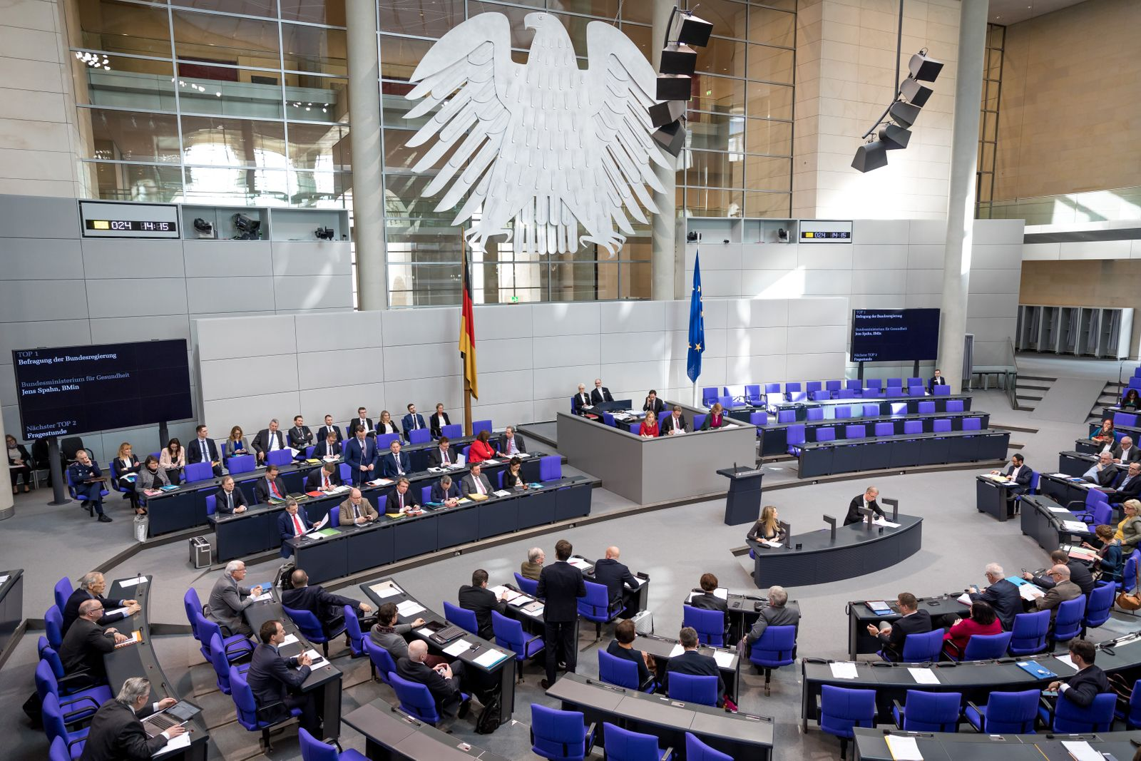 German Bundestag Public Hearing With Jens Spahn