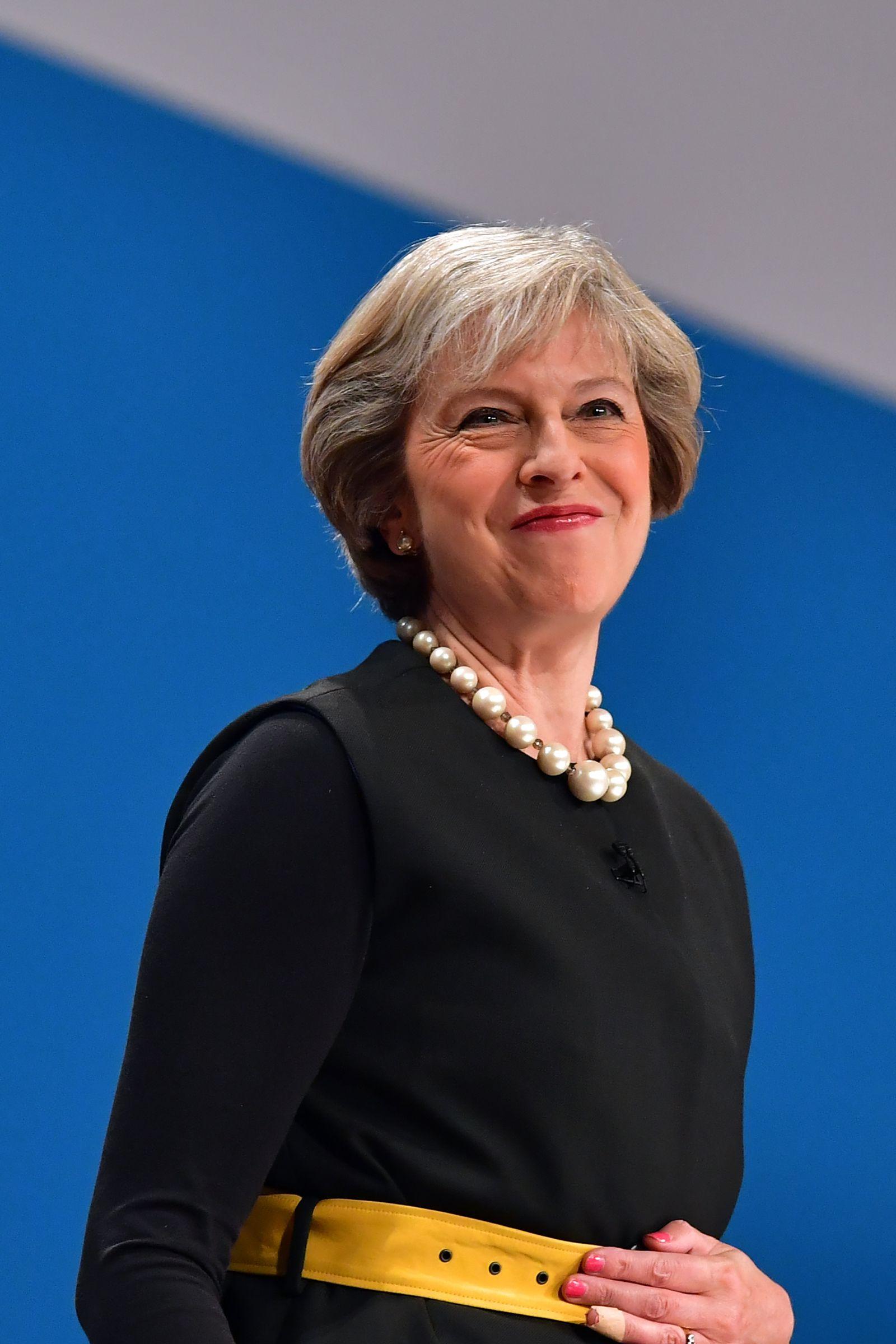 Theresa May Parteitag