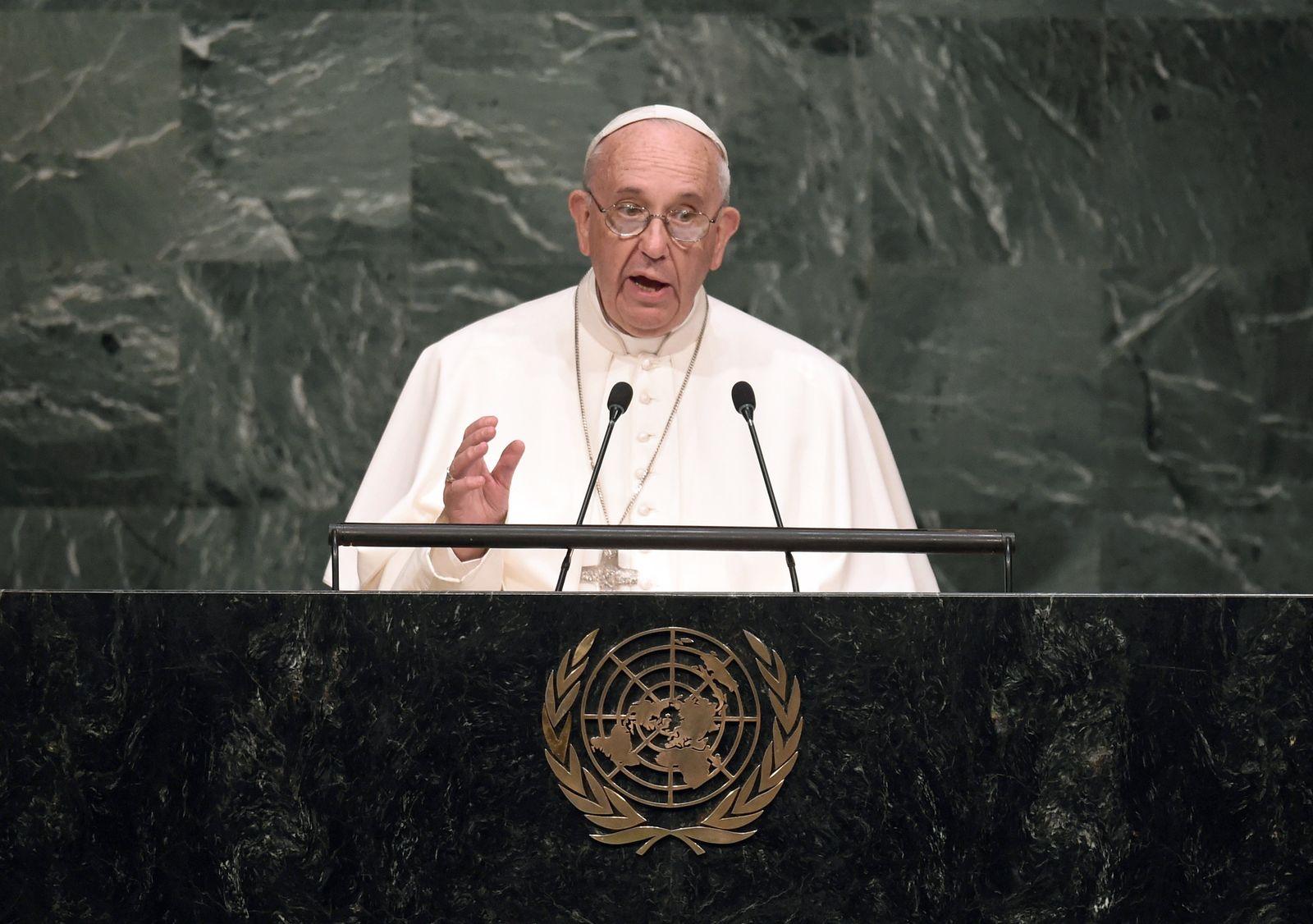 UNO/ Papst Benedikt