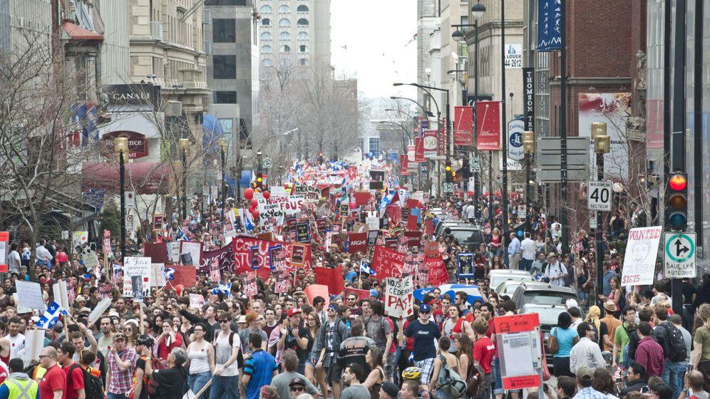 Studiengebühren in Québec: Studenten sehen rot