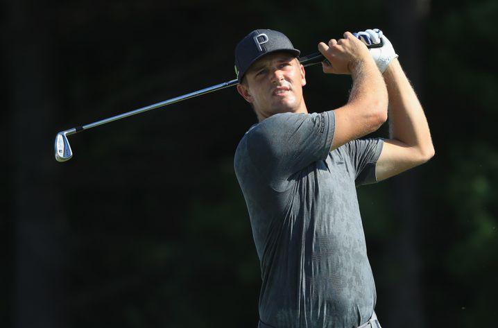 """Als DeChambeau noch nicht """"Bulk"""" war: Der Golfer im Jahr 2018"""