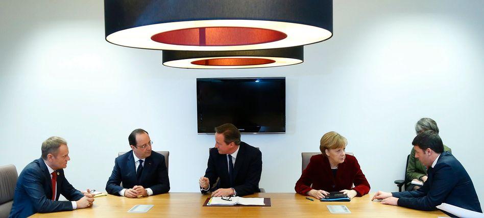 Krisentreffen in Brüssel: Europas Staats-und Regierungschefs sind sich über den Kurs gegen Russland nicht einig