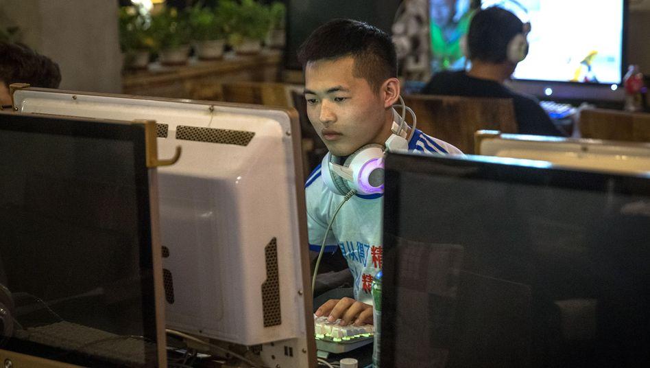 Internetcafé in Beijing