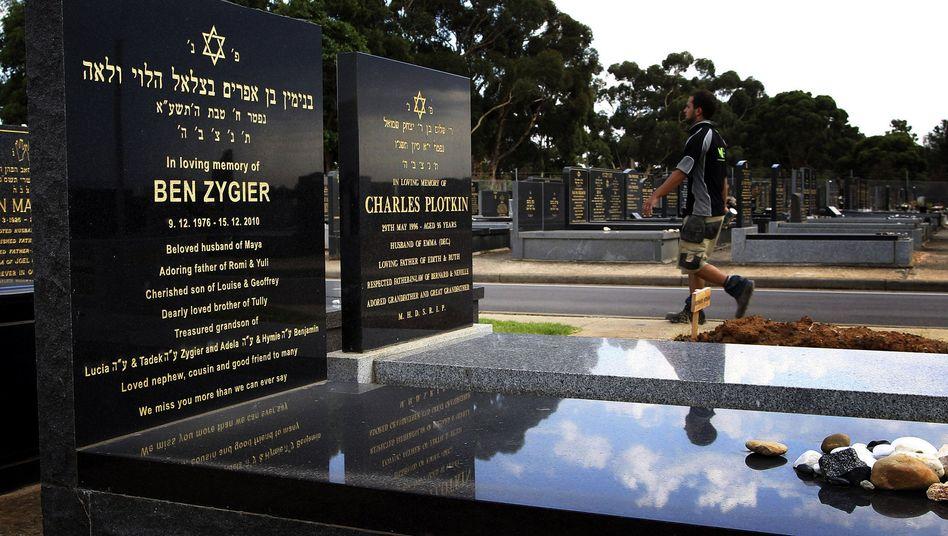 Jüdischer Friedhof von Zygiers Heimatstadt Melbourne