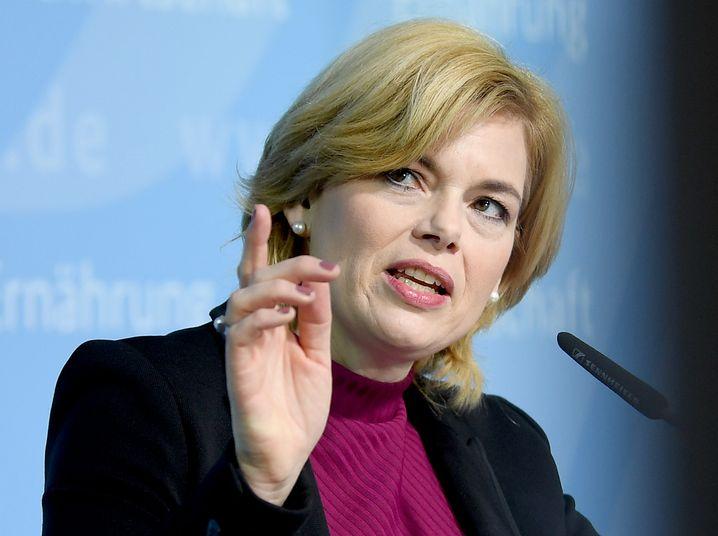 CDU-Ministerin Julia Klöckner