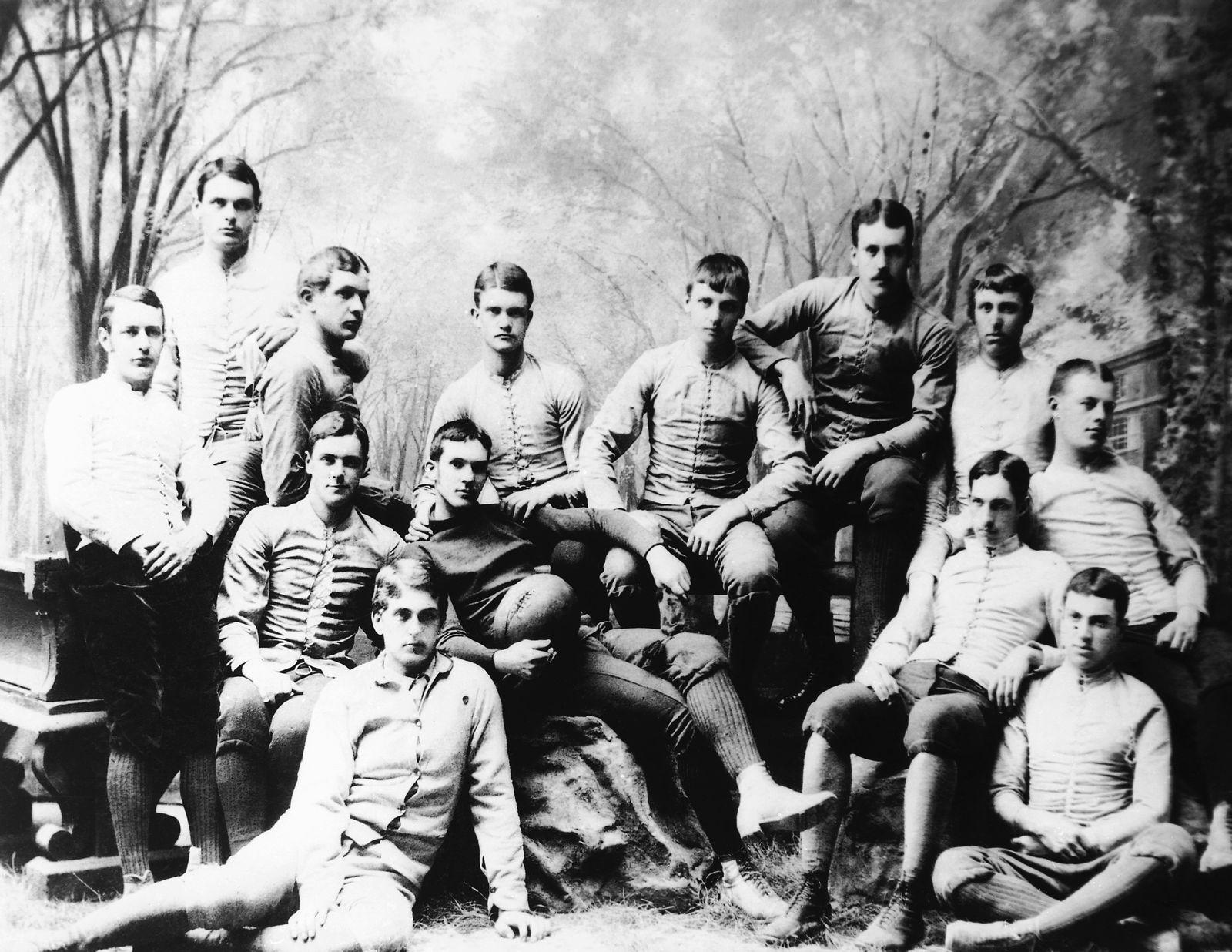 Football College Yale Football College Team