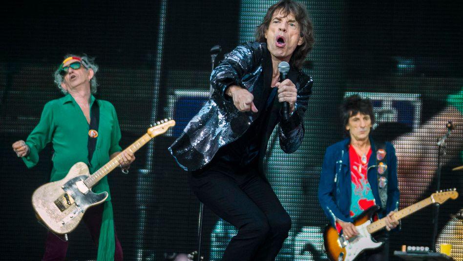 Keith Richards, Mick Jagger, Ron Wood: Erster neuer Song der Rolling Stones seit acht Jahren