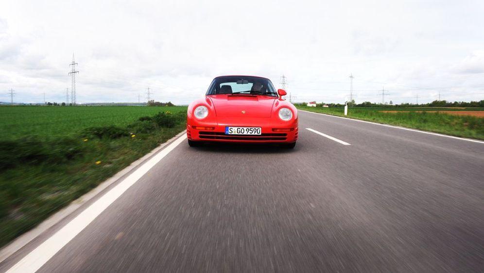 30 Jahre Porsche 959: Über-Elfer mit Golf-Manieren