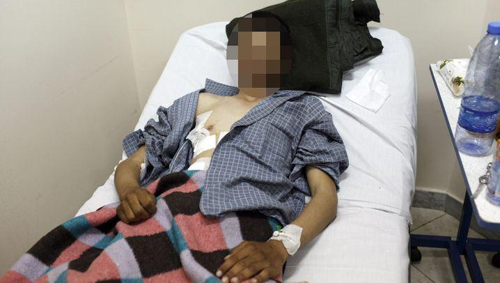 Kindersoldat in Libyen: Abdul, 16, kriegsversehrt