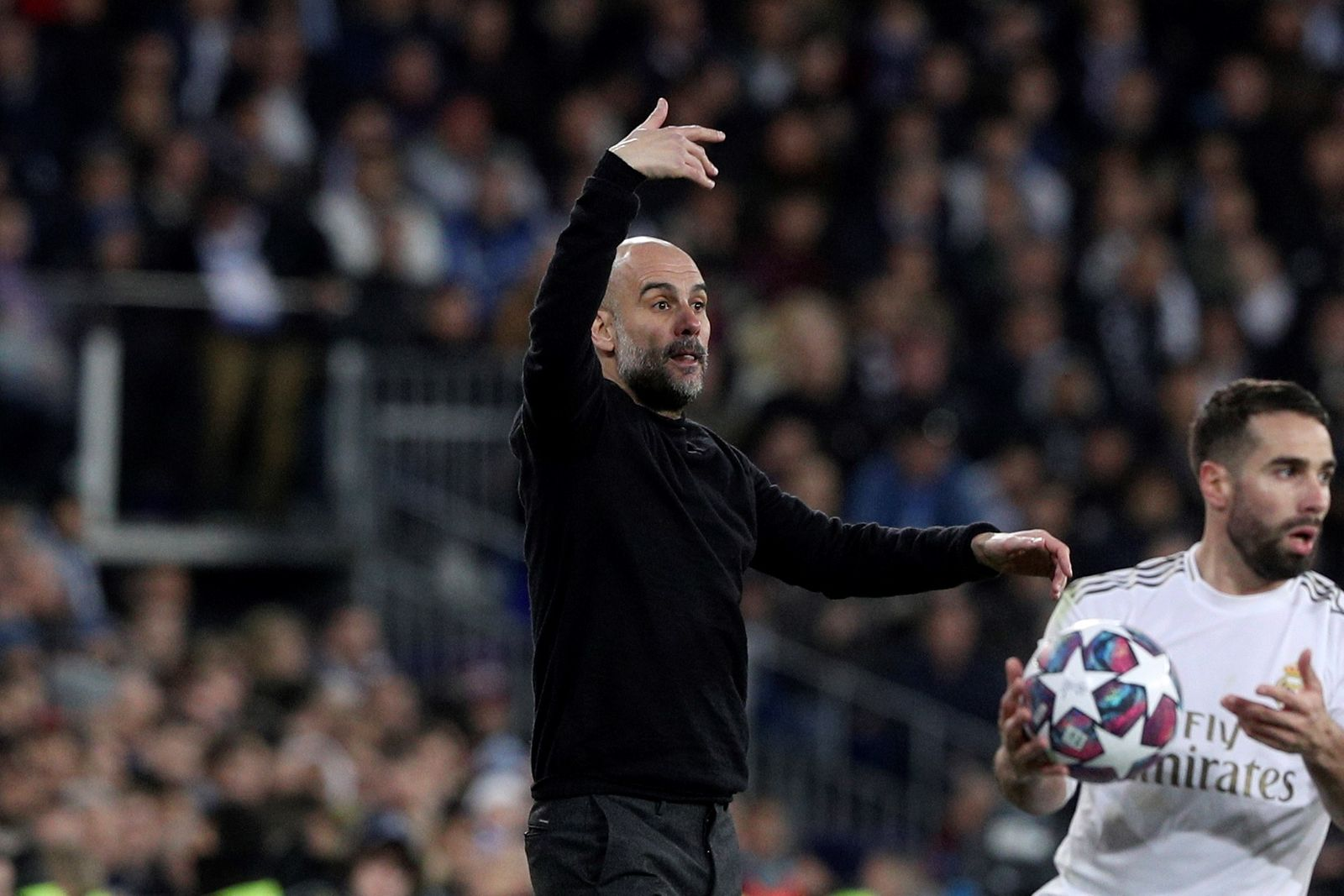 Real Madrid vs Manchester City, Spain - 26 Feb 2020