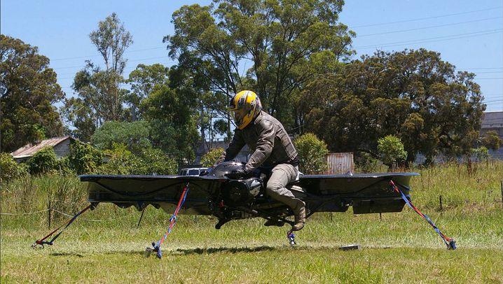 Hoverbike: Schweben auf dem Sitz-Hubschrauber