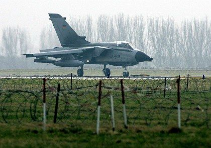 A Tornado reconnaissance jet: An inner-party conflict for the Social Democrats.