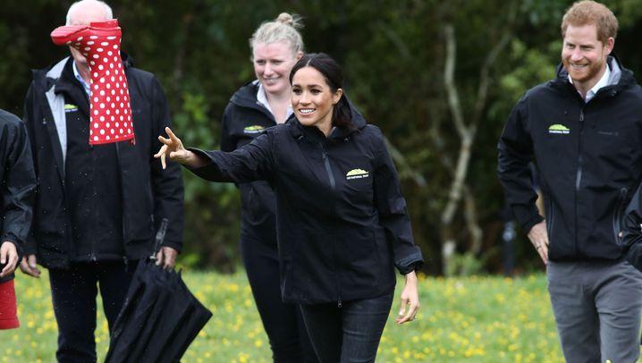Harry und Meghan in Neuseeland: Großer Wurf