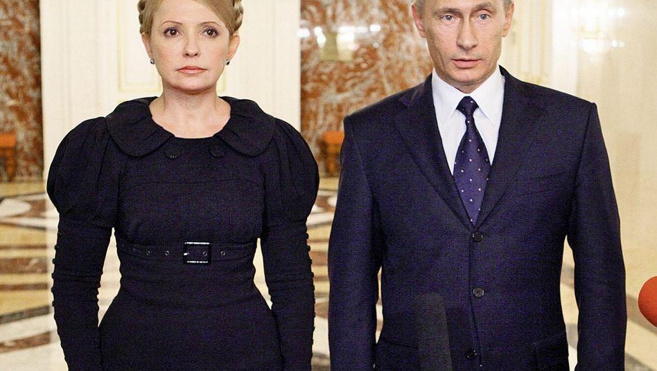 Timoschenko, Putin in Moskau 2009
