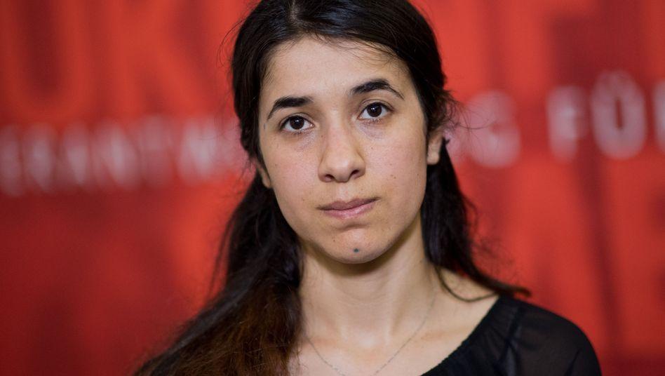 Eine der Preisträgerinnen: Nadia Murad