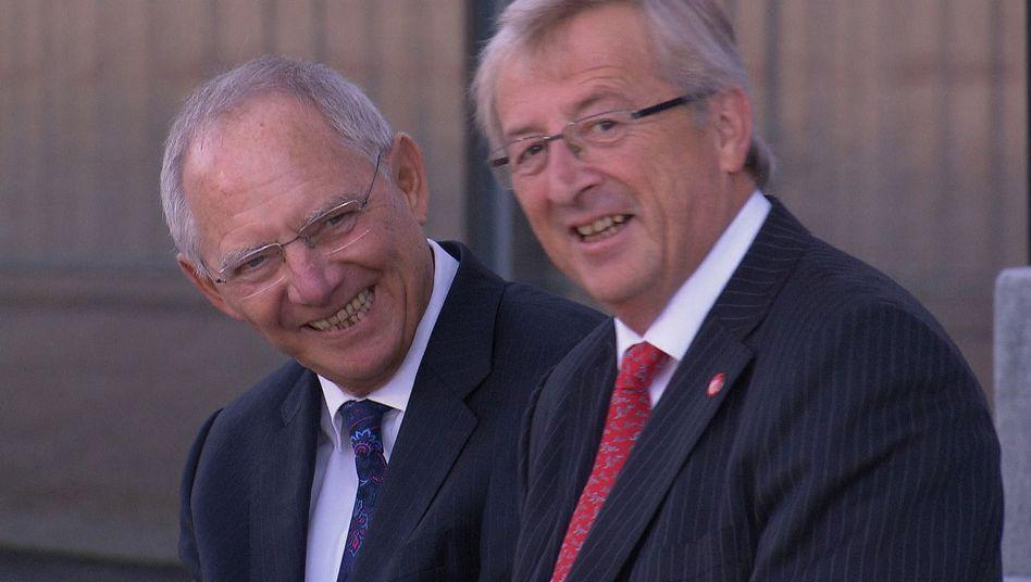 """Schäuble, Juncker: """"Was richtig ist, weiß ich nicht"""""""