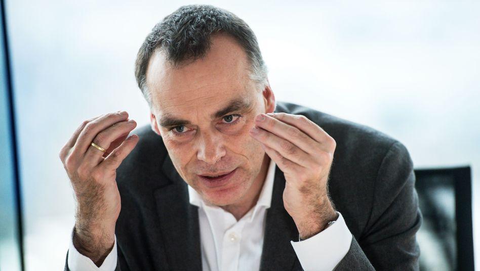 Berthold Huber, Vorstand Verkehr und Transport der Deutschen Bahn