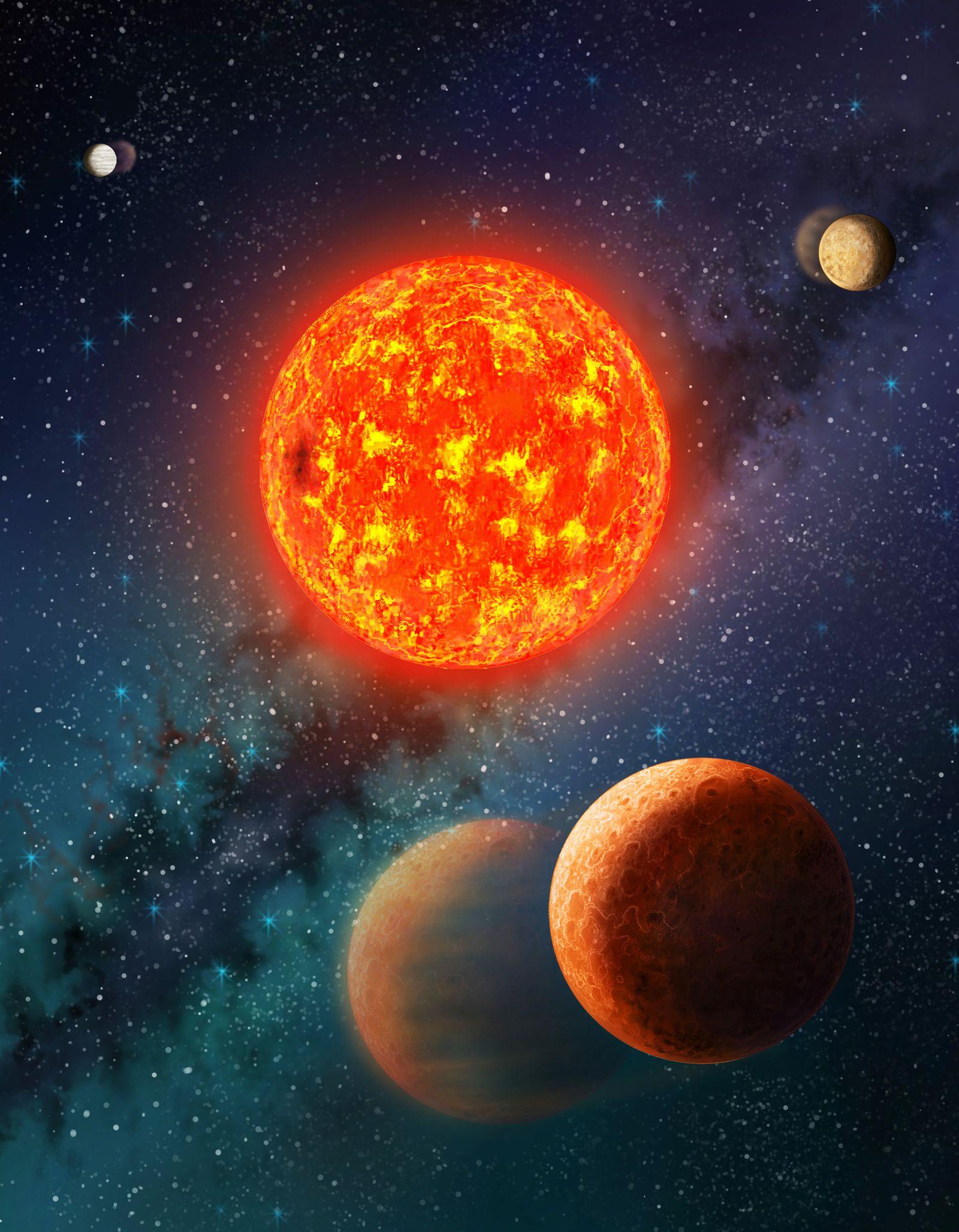 EINMALIGE VERWENDUNG Kepler-138-b