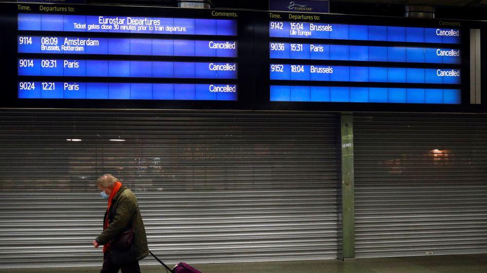 Vom Londoner Bahnhof St. Pancras könnte es bald womöglich wieder Verbindungen aufs europäische Festland geben