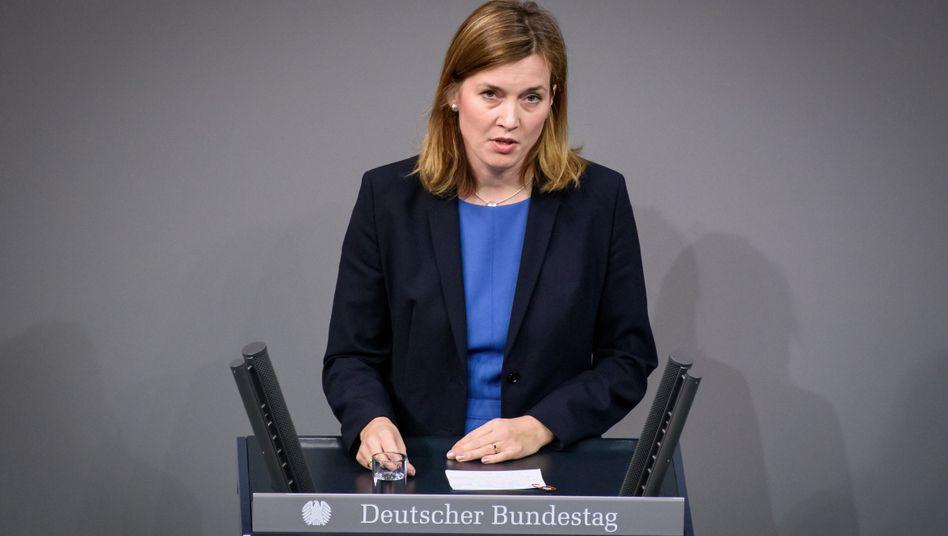 SPD-Abgeordnete Siemtje Möller