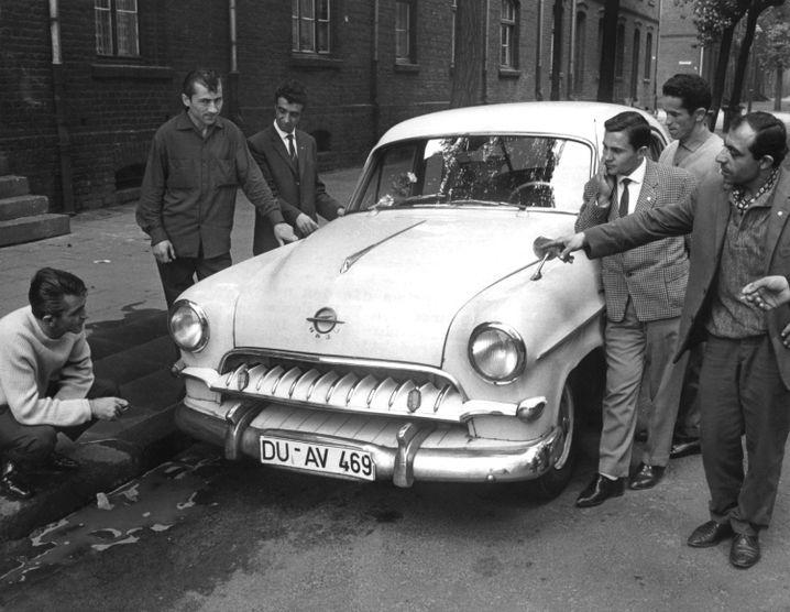 Türkische Gastarbeiter (1962): Teil des Wirtschaftswunders