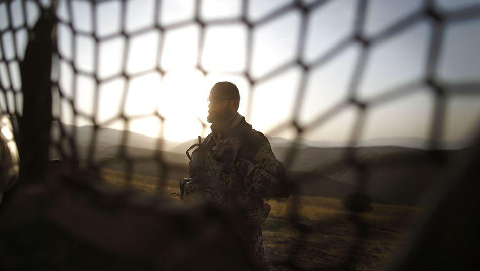 Deutscher Soldat in Afghanistan (Archivbild): Aus Hoffen wird schreckliche Gewissheit