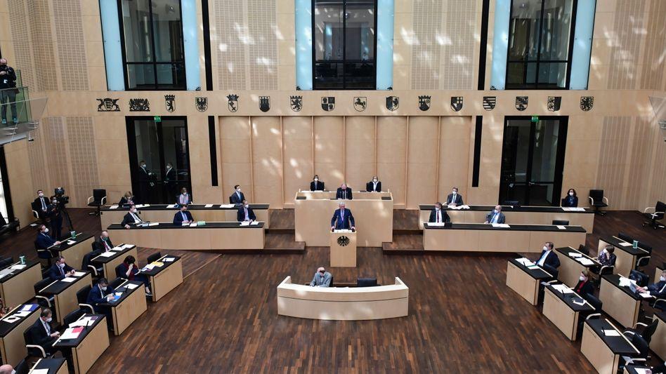 Rede von Hessens Ministerpräsident Bouffier im Bundesrat