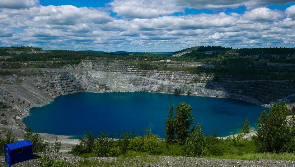 Mine in kanadischer Stadt Asbestos: 2011 geschlossen