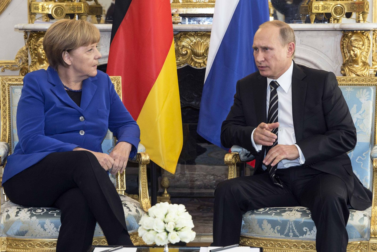 Angela Merkel / Wladimir Putin