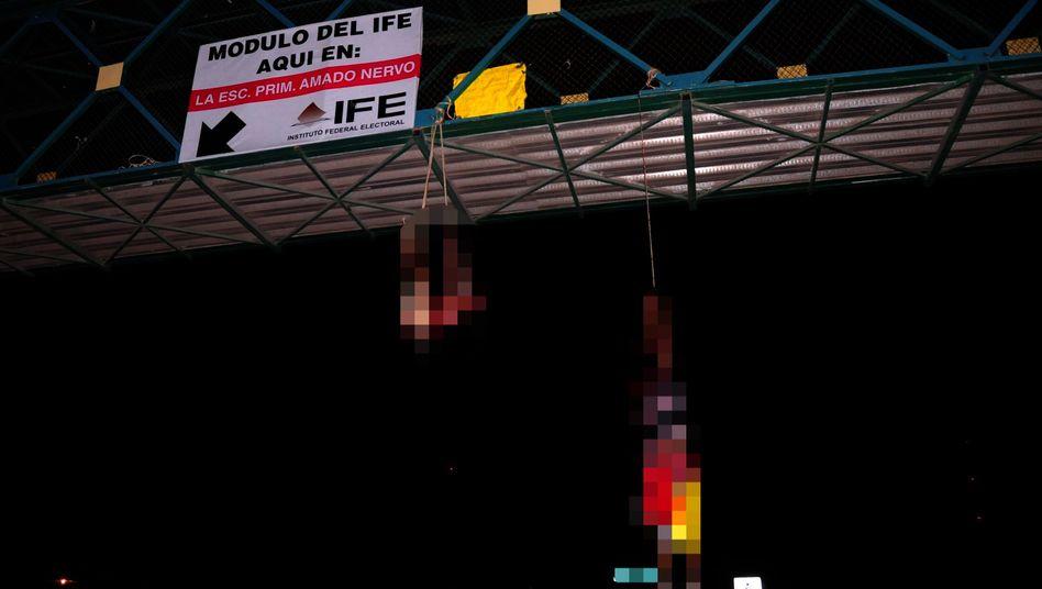 """Getötete Blogger in Nuevo Laredo: """"Das passiert mit allen Internetpetzen"""""""