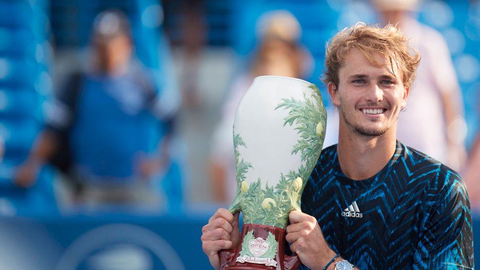 »Es war eine unglaubliche Woche«: Alexander Zverev