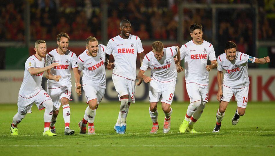 Köln war Wiesbaden klar überlegen - und musste trotzdem im Elfmeterschießen bangen