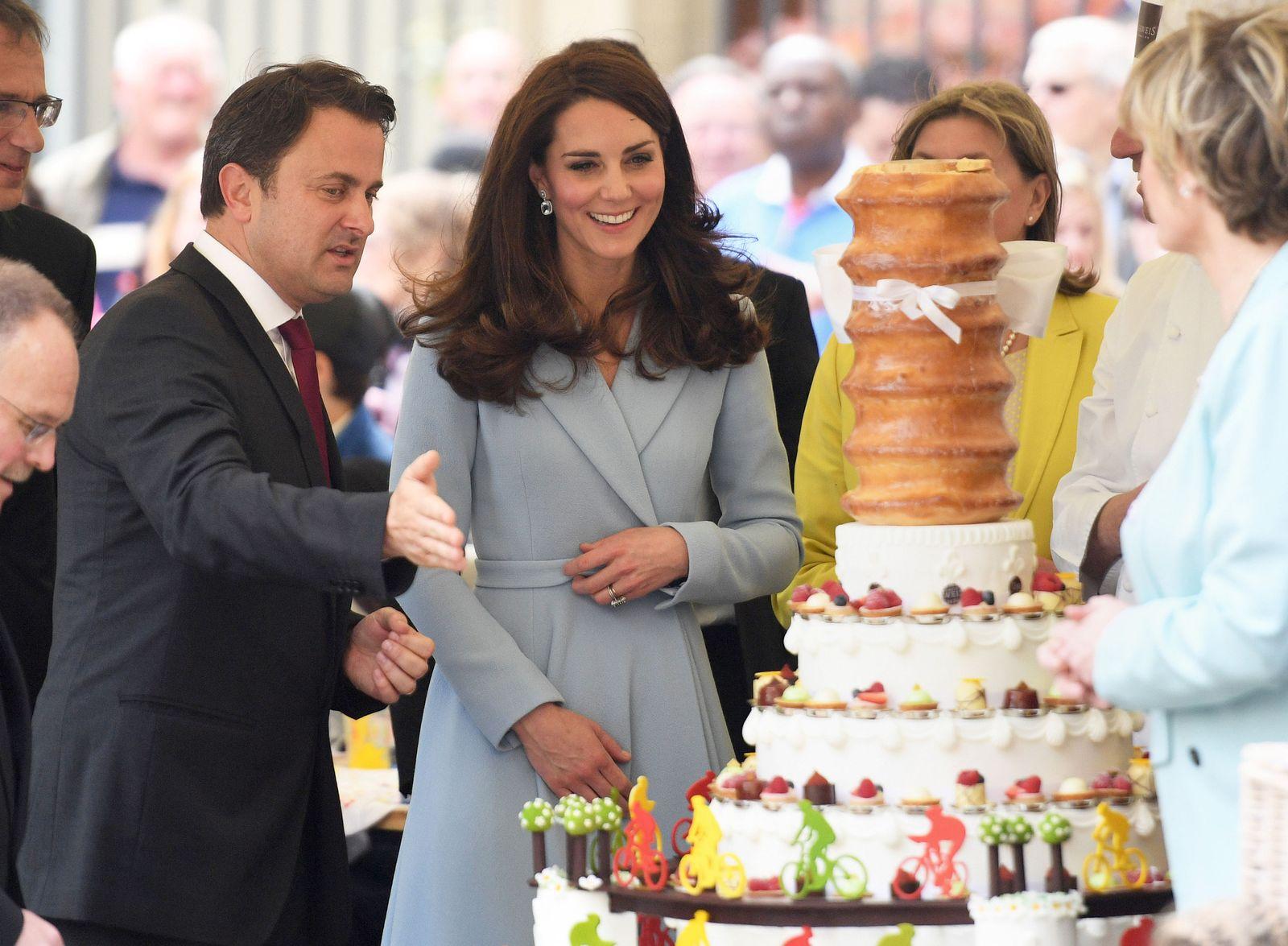 Herzogin von Cambridge zu Besuch in Luxemburg
