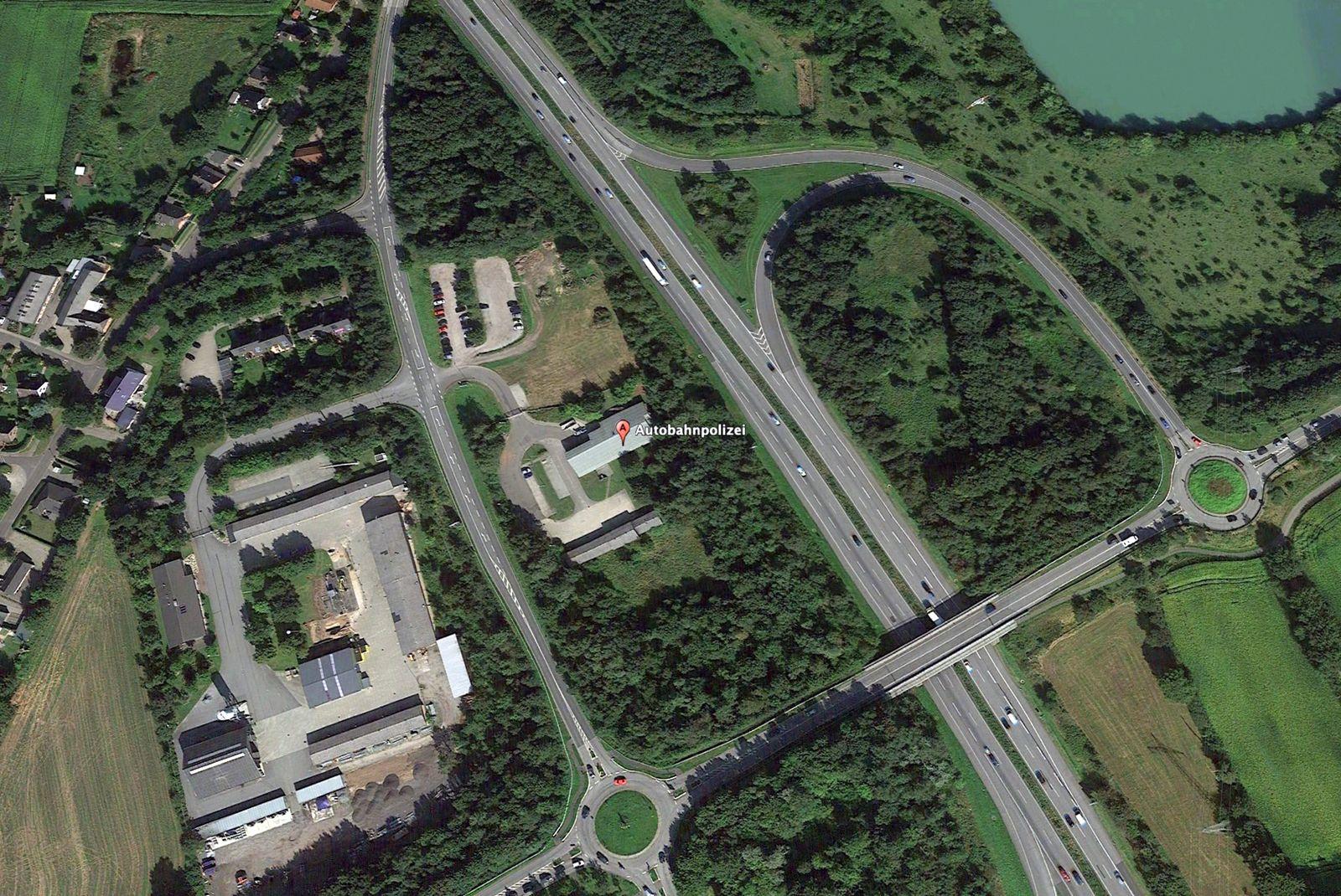 EINMALIGE VERWENDUNG Puigdemont/ Verhaftung/ Autobahnpolizei Schuby