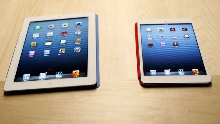 Neues Tablet: Apples Mini-Show