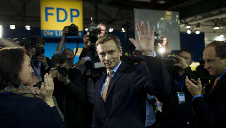 """Neuer FDP-Chef Christian Lindner: """"Die Zeit der Trauerarbeit ist zu Ende"""""""