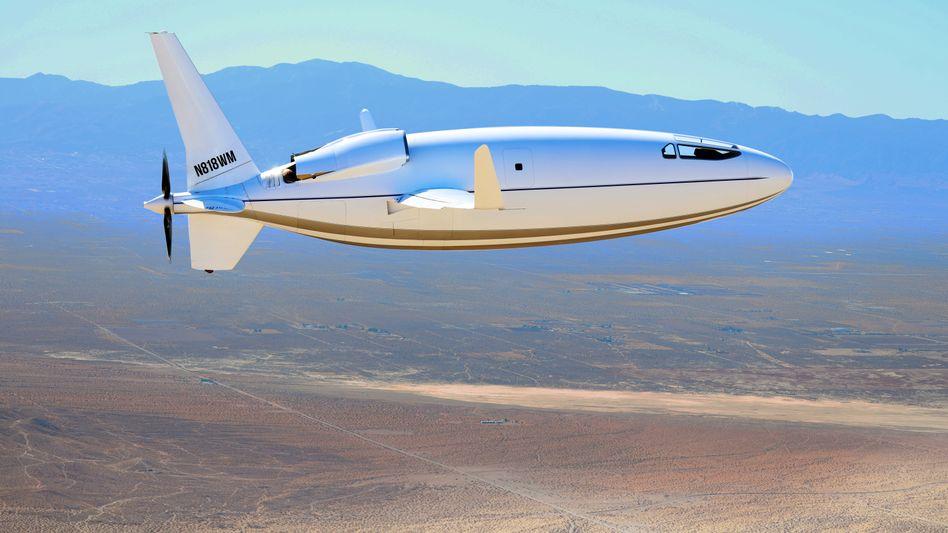Angetrieben wird die Celera 500L durch den Propeller am Heck. Was hinten am Rumpf zu sehen ist, sind Lufteinlässe - und keine Jettriebwerke