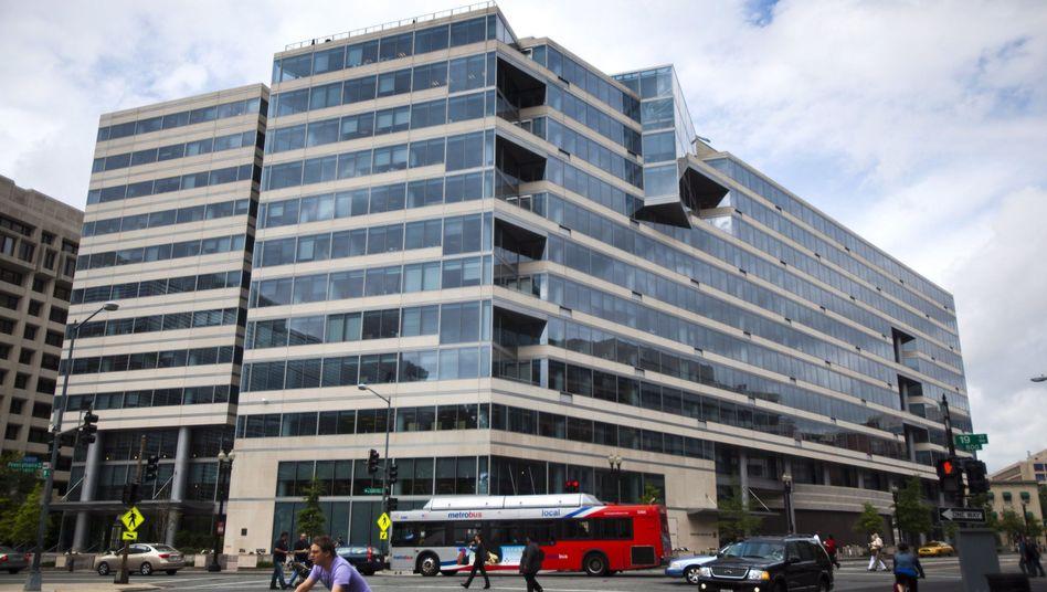 IWF-Zentrale in Washington: Cyberattacke auf Währungsfonds
