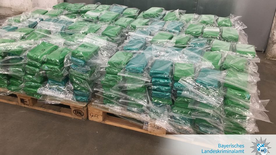 Sichergestelltes Kokain im Jahr 2017: Ausgangspunkt für die Ermittlungen