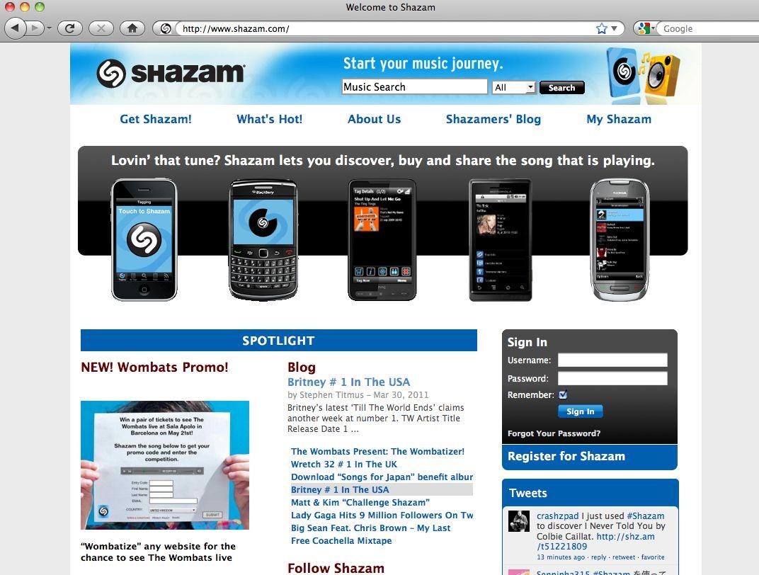 EINMALIGE VERWENDUNG Konsum 2020 / Shazam SCREENSHOT