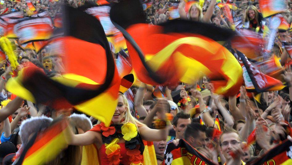 Deutsche Fans: Gute TV-Quoten bei der EM