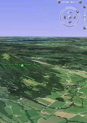 """Vorbei: Der Google-Hinweis auf den """"Hitler-Berg"""" wurde gestrichen"""