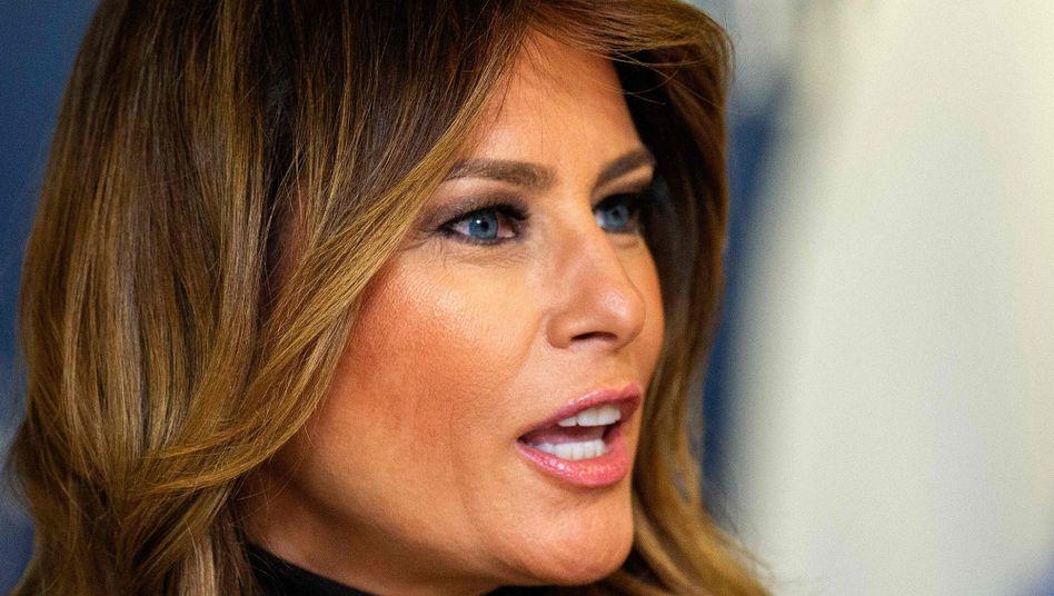 """Melania Trump: """"Kinder sollten aus der Politik herausgehalten werden"""""""