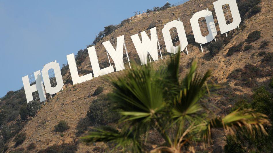 Hollywood-Zeichen in Los Angeles