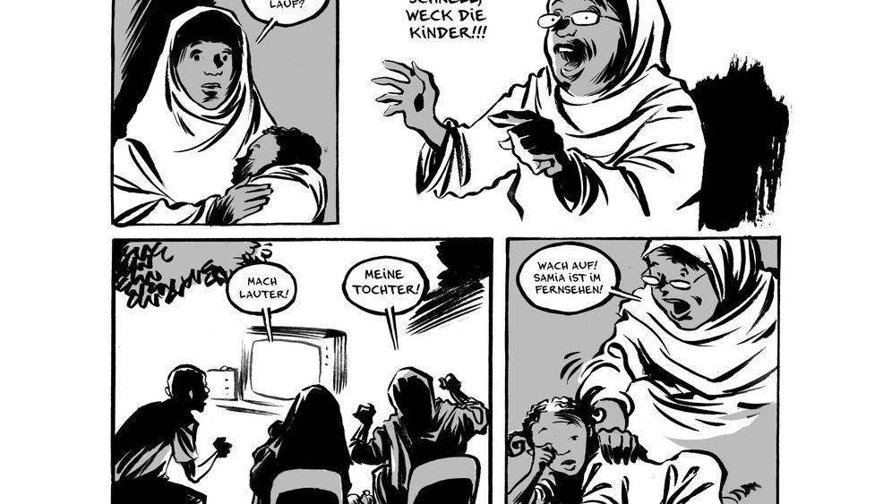 Comic nach einer wahren Geschichte: Ertrunken auf dem Weg zu Olympia