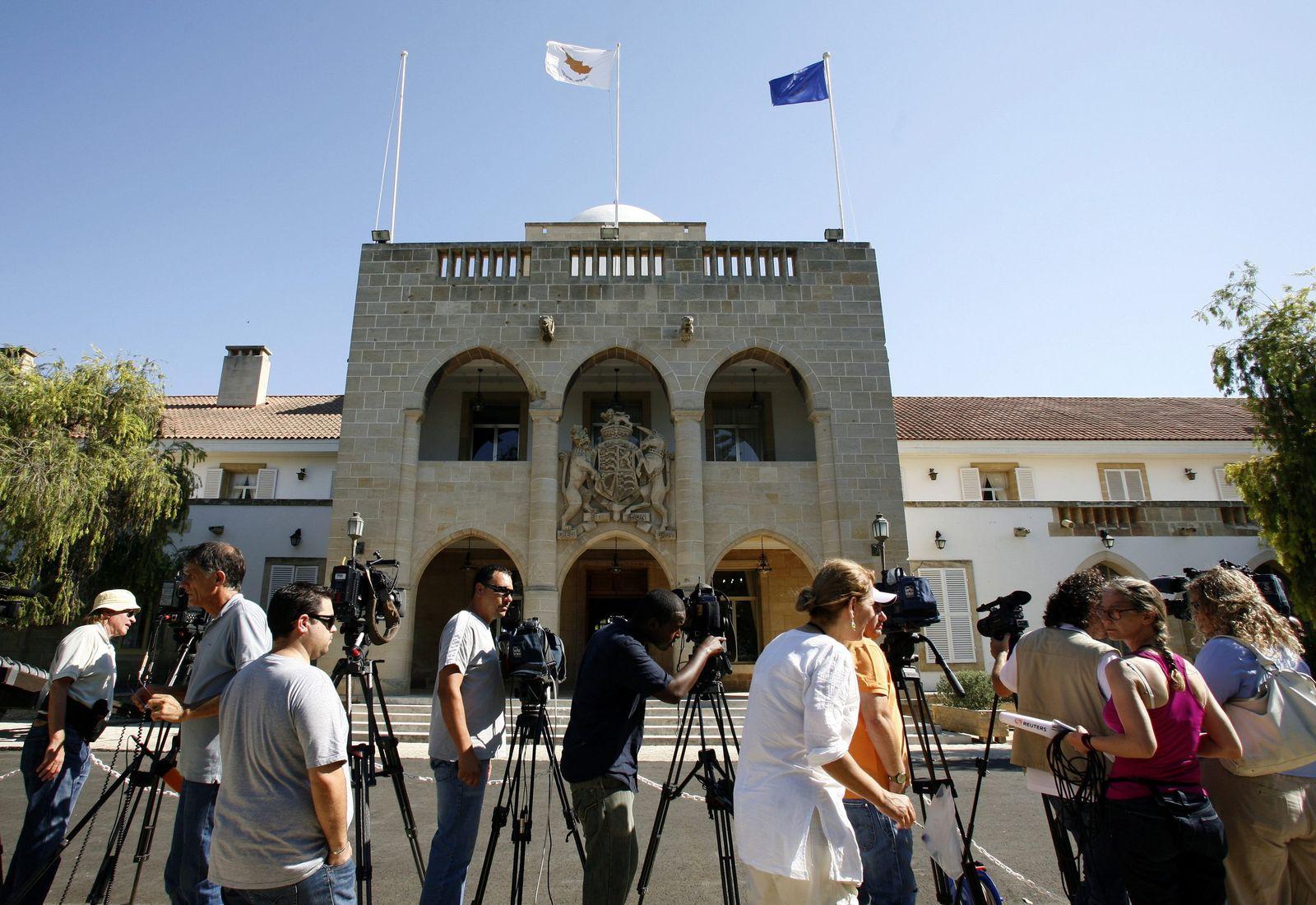 Zypern / EU Praesidentschaft / Palast