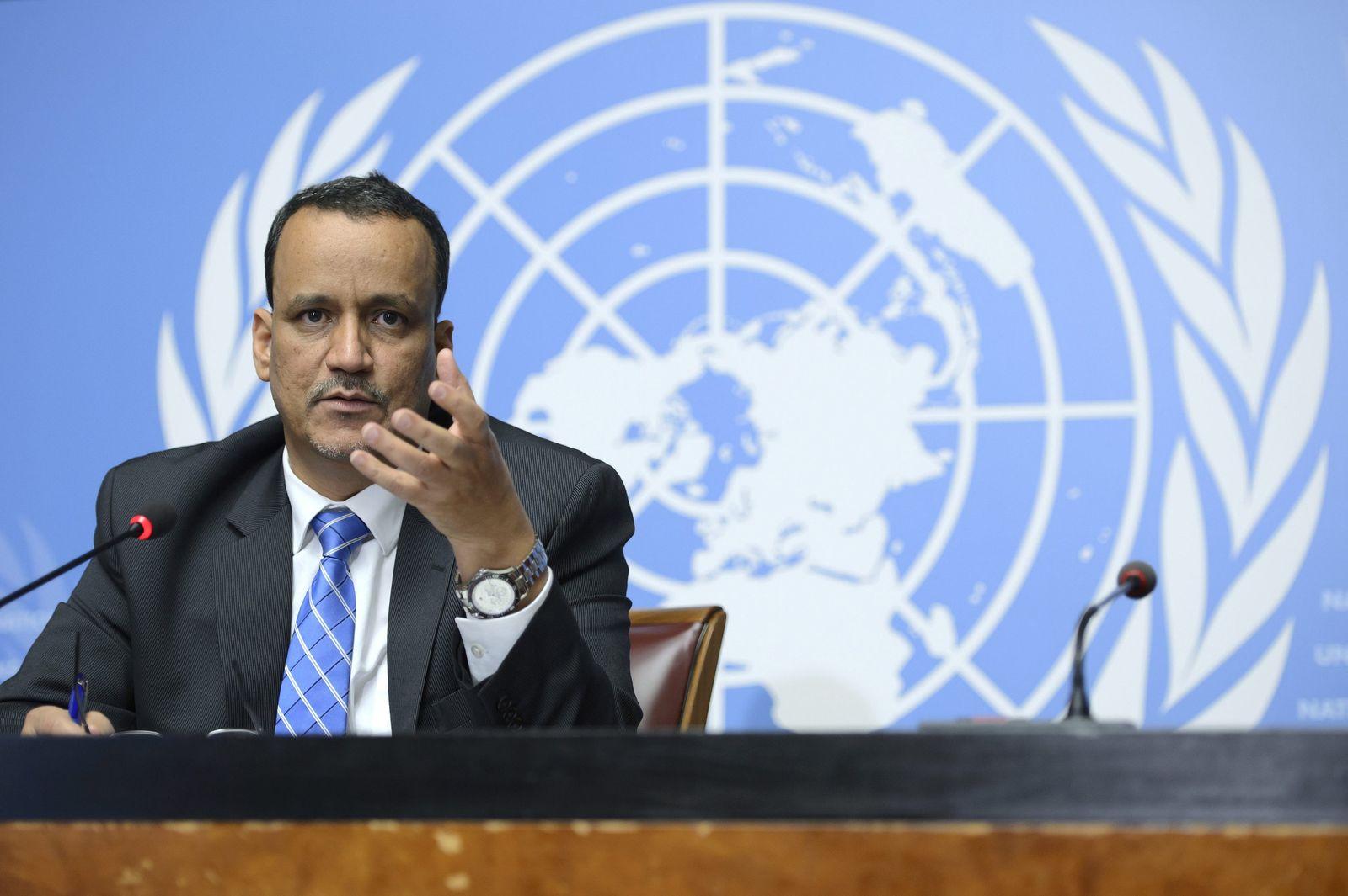 Uno-Sondergesandter für Jemen, Ismail Ould Cheikh Ahmed