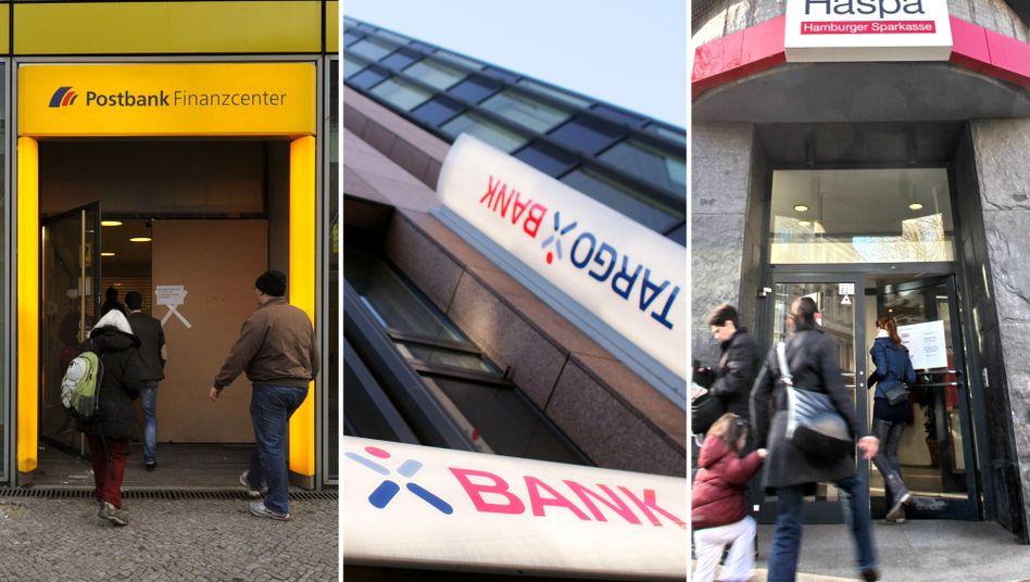 Banken im Kunden-Check: Würden Sie ihre Filiale weiterempfehlen?
