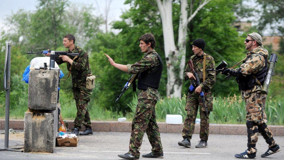 """Prorussische Separatisten vor Mariupol: """"Unschädlich"""" gemacht"""