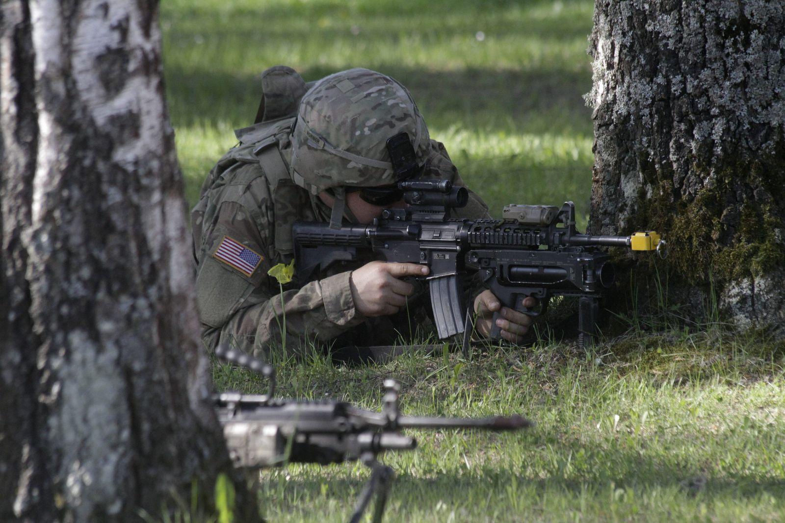 Militärübung in Estland